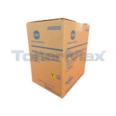 KONICA MINOLTA MAGICOLOR 4750 TONER YELLOW HY